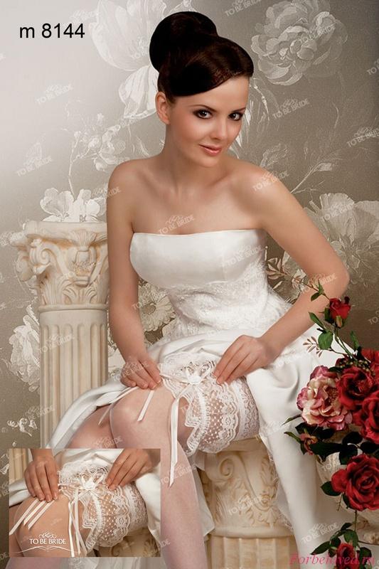 фото невеста в чулках